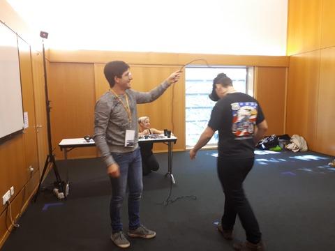 Stand jeu VR