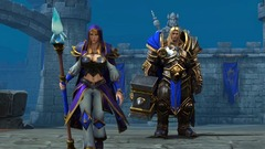 Warcraft 3 reforged arthas jaina header