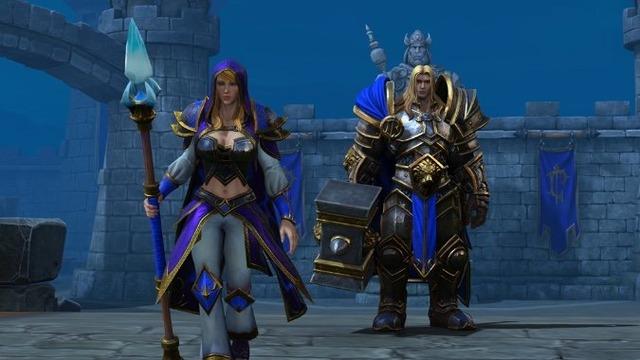 Warcraft 3 reforged arthas jaina header