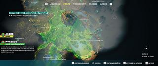 Carte du Monde (partiel)