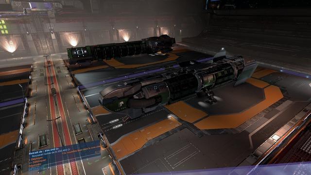 Et voici 2 vaisseaux de ma flotille
