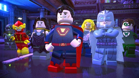 Lego DC Super-Villains - Test de Lego DC Super-Villains - Kapow!