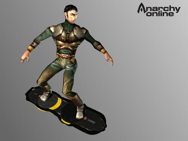 Rendu 3D d'un Hoverboard