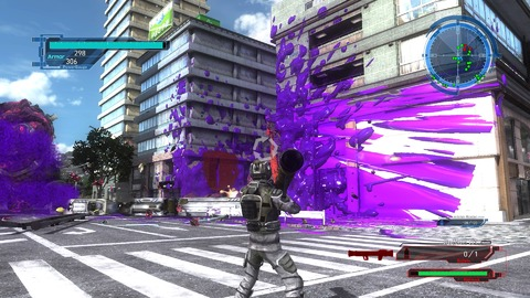 Earth Defense Force 5 - Test de Earth Defense Force 5 - c'est ce que j'appelle une rencontre du 3ème type...