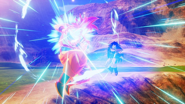 Goku SSG vs Raditz