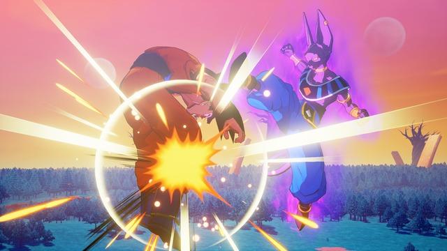 Goku contre Beerus