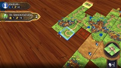 Test de Carcassonne - Attention à la tuile