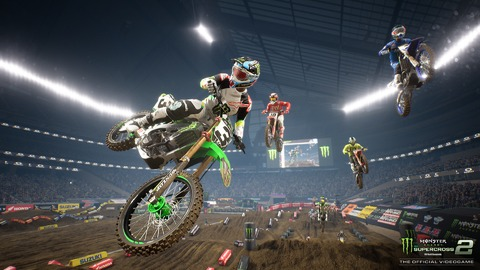 Test de Monster Energy Supercross 2 - De la boue et des flammes