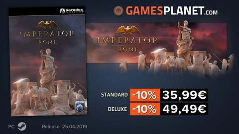 Civilization VI: Gathering Storm - Bons plans : Civ VI: Gathering Storm, Imperator: Rome, The Division 2 en promo