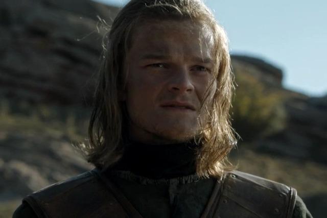 Robert Aramayo (Ned Stark jeune, dans Game of Thrones)