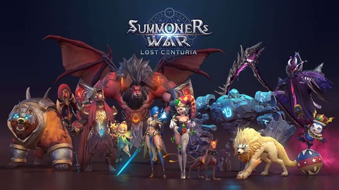 Summoners War: Lost Centuria - Com2uS esquisse son RTS mobile Summoners War: Lost Centuria
