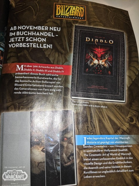 Diablo - Diablo IV mentionné dans l'artbook « The Art of Diablo »