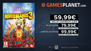 Borderlands 3 en promotion