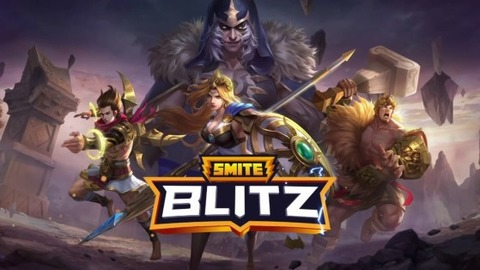 Smite Blitz - Le RPG d'action mobile Smite Blitz se pré-lance en Occident