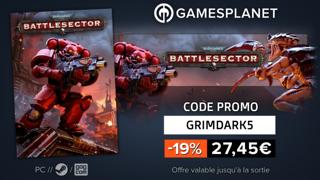 Promo Warhammer 40,000: Battlesector