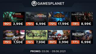 Promo Gamesplanet : tous les jeux Warhammer à petits prix (jusqu'à -90%)