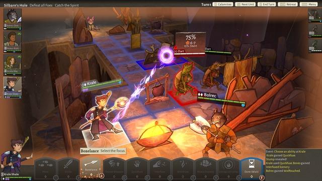 Screenshot bonelance