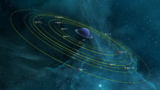 Carte de Starbase avec les lunes
