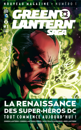 Green Lantern Saga 01