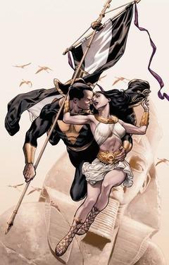 Black Adam & Isis