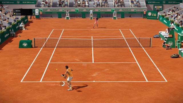 Images de Tennis World Tour : Roland-Garros Edition