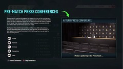 FIFA20CareerMode press conference