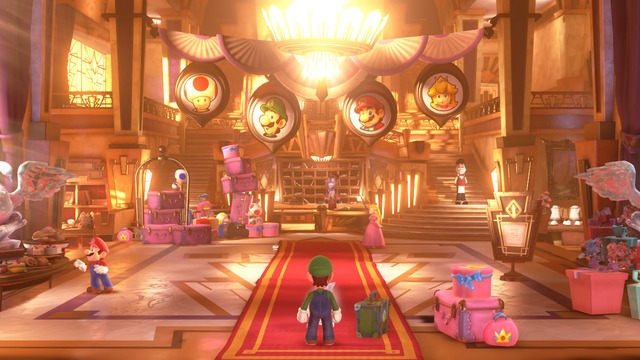 Images de Luigi's Mansion 3