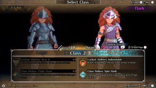 Trois écrans détaillent les nouvelles classes.