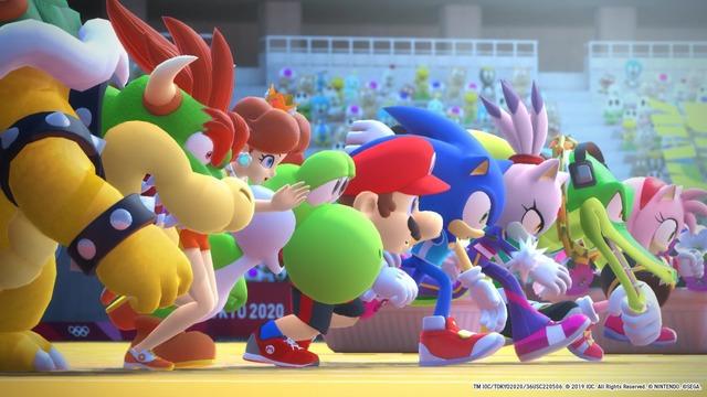 Images de Mario & Sonic aux Jeux Olympiques de Tokyo 2020