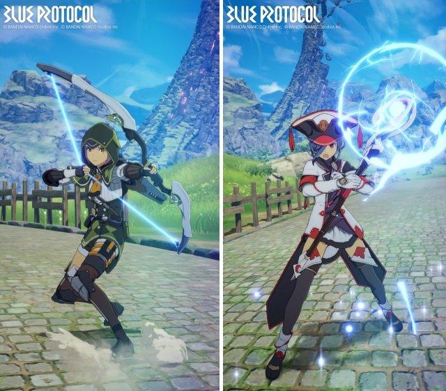 Images de Blue Protocol