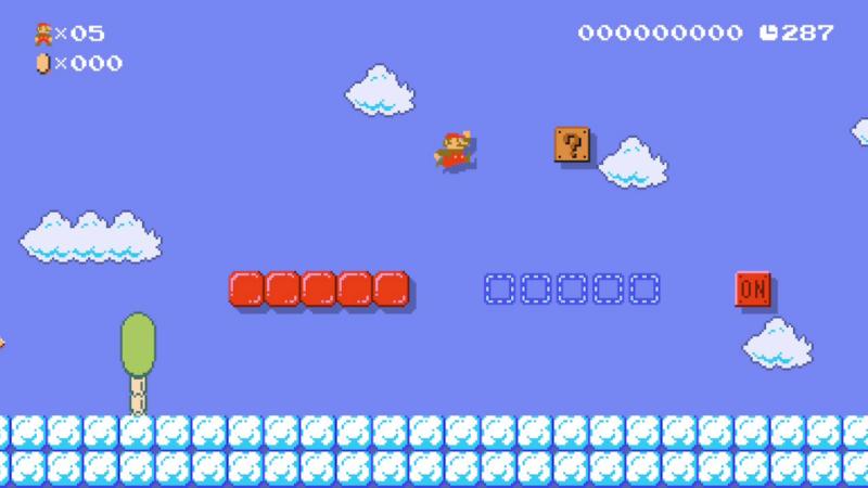 L'environnement neige n'existait pas à l'époque de Super Mario Bros., mais il a été créé dans les conditions de l'époque avec même une musique dédiée qui sonne très authentique