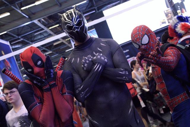 La question qui tue, y avait-il plus de DeadPool que de SpiderMan à la Japan Expo ?