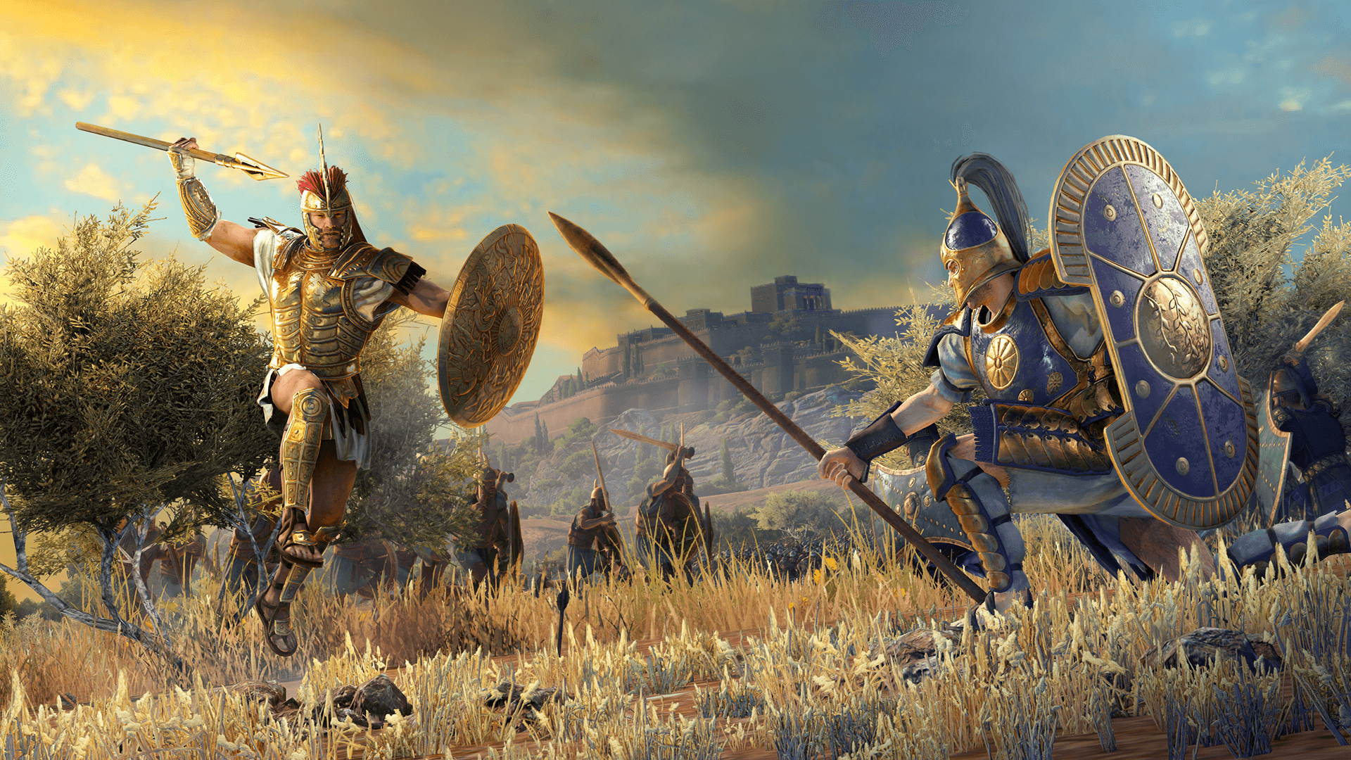Total War Saga Troy gratuit sur Epic Games à son lancement