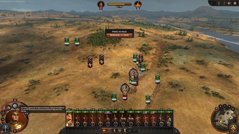 Plein de boutons sur lesquels on n'a pas envie d'appuyer. Au moins la magie de Total War: Warhammer était amusante à utiliser...