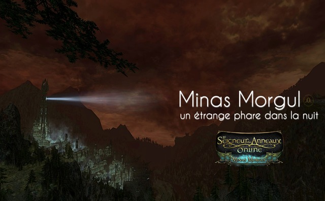 Minas Morgul, un étrange phare dans la nuit