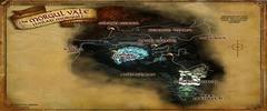 Carte de la Vallée de Morgul