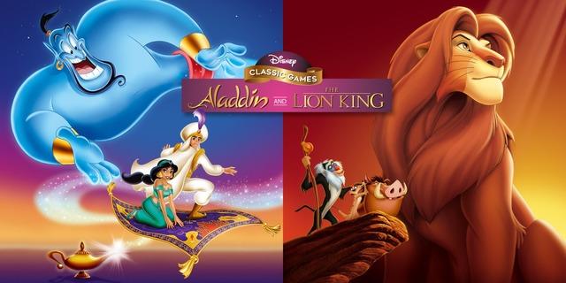 Image de Disney Classic Games : Aladdin and The Lion King