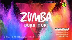 Test de Zumba Burn It Up ! - Brûler des calories en s'amusant