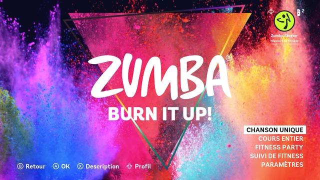 Images de Zumba Burn It Up !