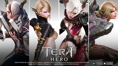 TERA Hero illustre ses classes et races de personnages