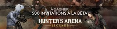 Distribution : 500 invitations à la bêta fermée de Hunter's Arena à gagner