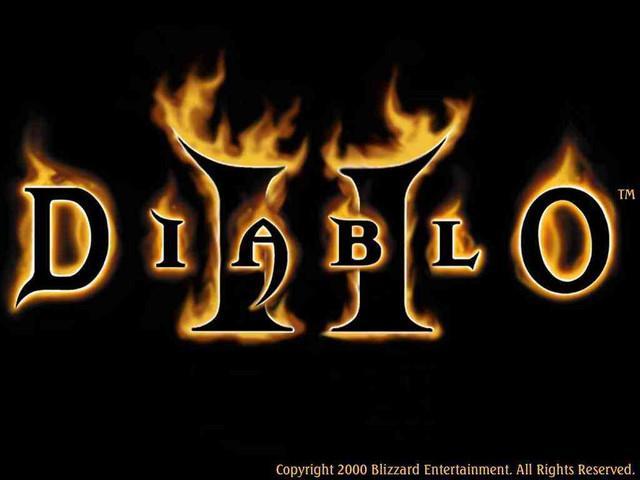Logos Diablo 2 de Blizzard