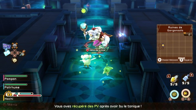 Images de Snack World : Mordus de Donjons