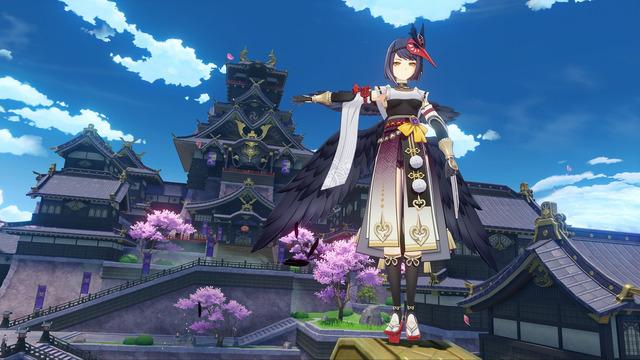 Genshin Impact 2.1 : Kujou Sara