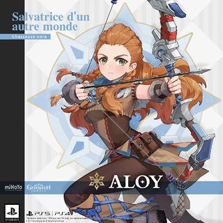 Aloy dans Genshin Impact