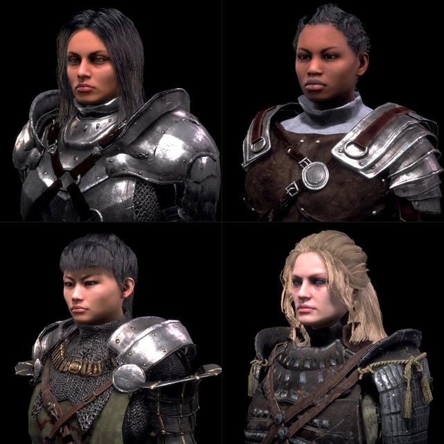 Avatars féminins