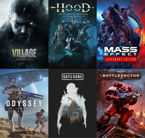 Promo Gamesplanet : Resident Evil Village (-17%), Mass Effect Legendary Edition (-10%), Warhammer 40k Battlesector (-19%)