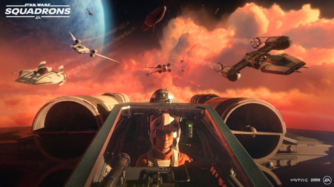 Star Wars: Squadrons - X-wing ou TIE fighter, Star Wars: Squadrons illustre son gameplay