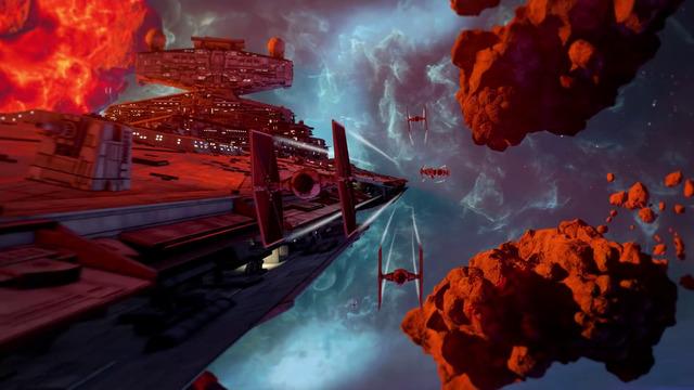 Star wars squadrons zeigt im gameplay trailer wie rasant die schlachten werden 6103928