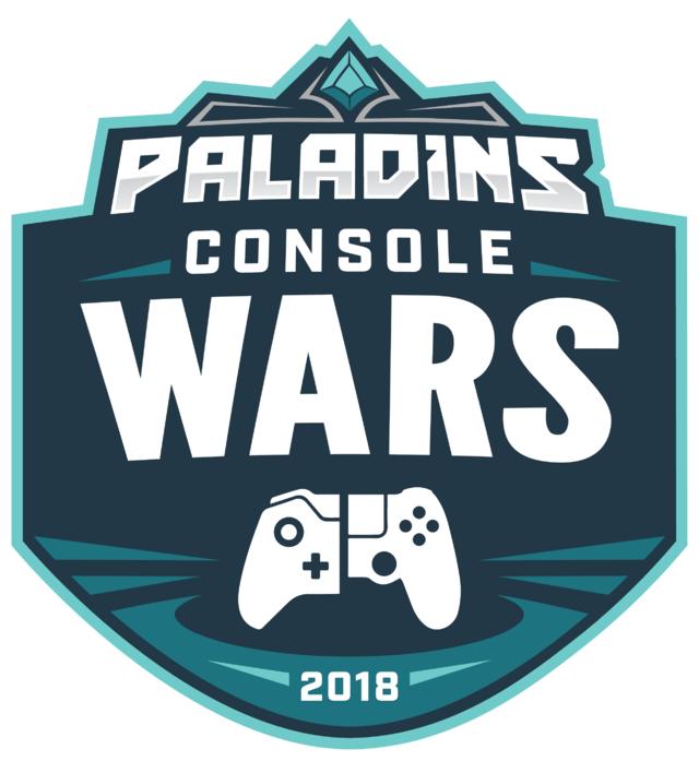 Paladins ConsoleWars Logo 2018